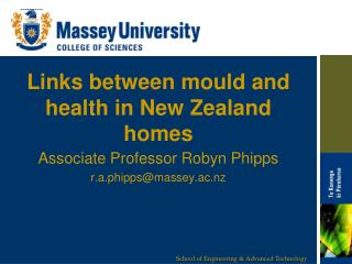 Links between mould  and health in New Zealand homes
