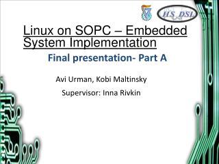 Final presentation- Part A