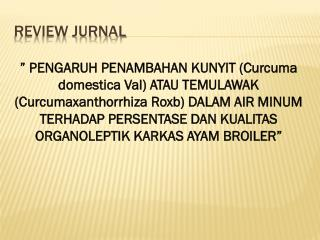 Review Jurnal
