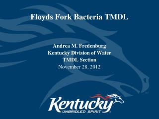 Floyds Fork Bacteria TMDL