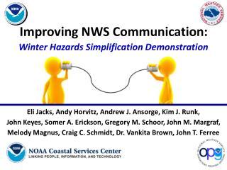 Improving NWS Communication: