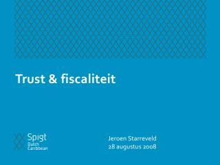 Trust & fiscaliteit