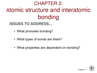 Chapter 6: Electronic Structure and the Periodic Table