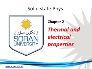 Classical and Quantum Free Electron Models of Electrical ...