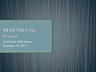 READ 520 Final Project