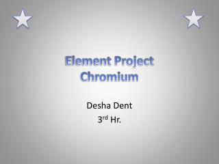 Element Project Chromium