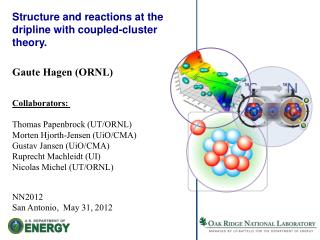 S tructure and reactions at the  dripline  with coupled-cluster theory.