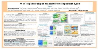 An air-sea  partially  coupled data assimilation and prediction system  Xu Li