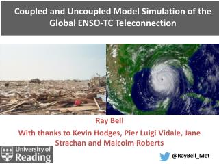 Coupled and Uncoupled Model Simulation of the  Global ENSO-TC Teleconnection