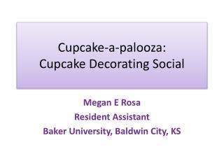 Cupcake-a- palooza : Cupcake Decorating Social