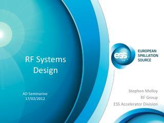 RF Systems Design