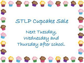 STLP Cupcake Sale