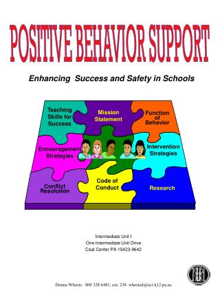 Enhancing  Success and Safety in Schools