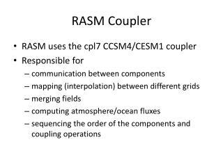 RASM Coupler