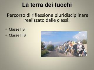 Classe IIB Classe IIIB