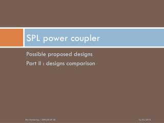 SPL power coupler