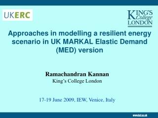 MARKAL Modeling Workshop