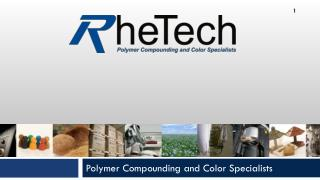 Polymer Compounding and Color Specialists