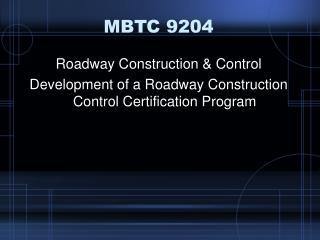 MBTC 9204