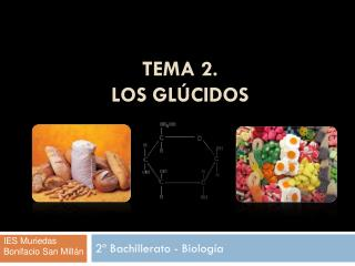 TEMA 2.  LOS GLÚCIDOS