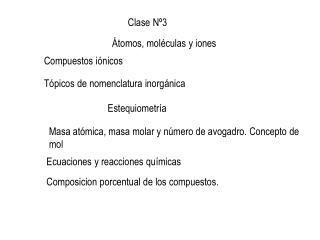 Clase Nº3