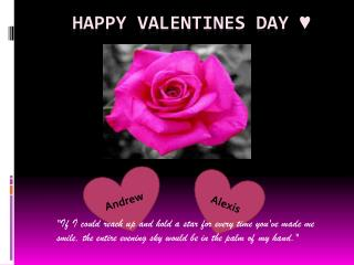 Happy Valentines Day ♥