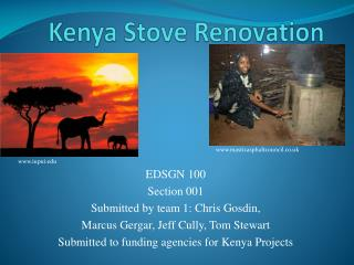 Kenya  S tove Renovation