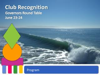 Club Recognition