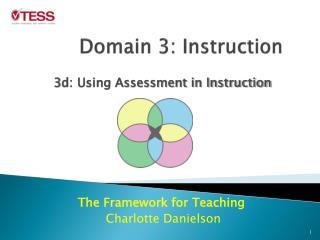 Domain 3: Instruction