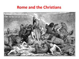 Rome and the Christians