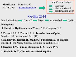 Optika  2014