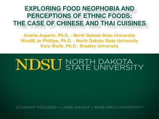 Amelia Asperin, Ph.D. - North Dakota State University