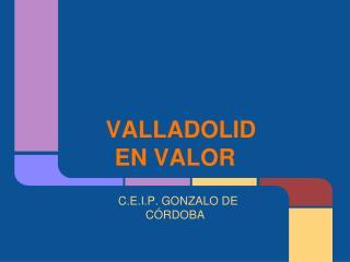 VALLADOLID EN VALOR