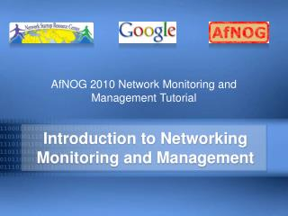 Introduction to Networking Monitoring and Management