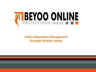 Online Reputation Management  Strategic Analysis model