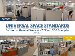 Universal Space Standards