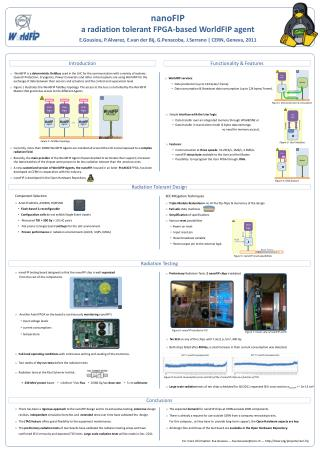 nanoFIP a radiation tolerant FPGA-based WorldFIP agent