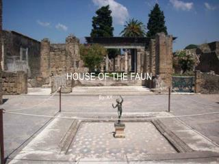 House of the faun