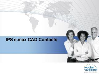 IPS e.max CAD Contacts