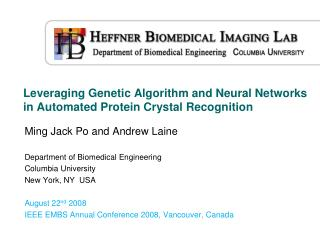 Leveraging Genetic Algorithm and Neural Networks in Automated Protein Crystal Recognition