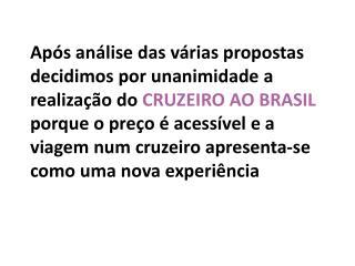 Cruzeiro de 14 dias