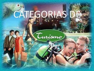 CATEGORIAS DE