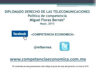 «COMPETENCIA ECONOMICA»        @mfbernes