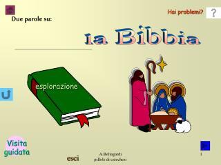 La Bibbia   composta da: