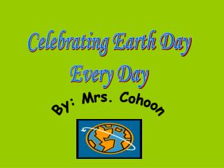 Earth Day Slide Show