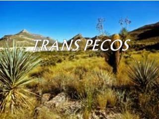 Trans Pecos