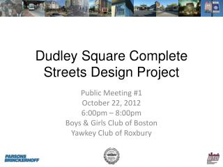 Dudley Square Complete Streets Design Project