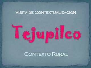 Contexto Rural