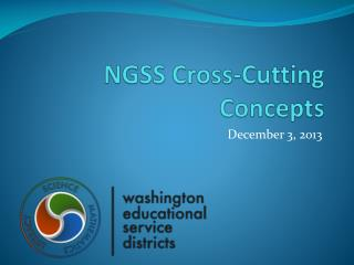 NGSS Cross-Cutting Concepts
