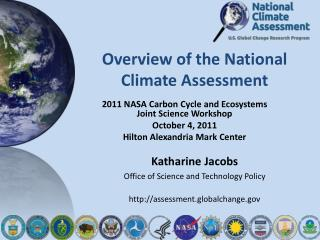 Overview of the National Climate Assessment